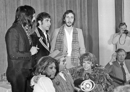 "1975 ""TOMMY"" PRESS CONFERENCE: ELTON JOHN, WHO, ANN-MARGARET, TINA TURNER"