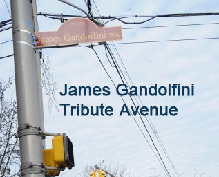 James Gandolfini - Tribute Avenue