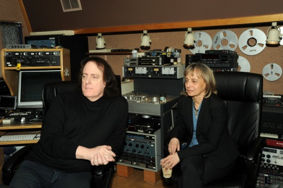 TOMMY JAMES & BARBARA DE FINA TAYLORMADE STUDIOS JAN 13 2016