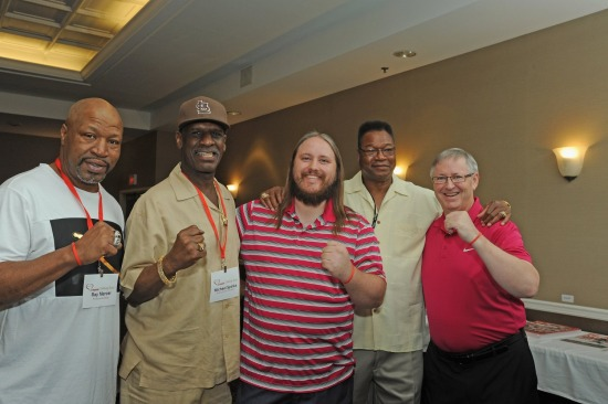 SEAN ADAMS LARRY HOLMES GOLF JULY 9 2-18